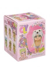 Куколка OLY в шапочке-ушанке (ВВ3857)