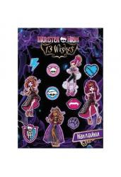 Наклейки плоские Monster High (85064)