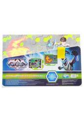 """Водная раскраска """"Max Steel"""", формат А3, с губкой, в ассортименте (85606)"""
