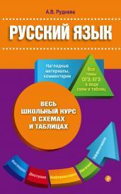 Русский язык. Весь школьный курс в схемах и таблицах