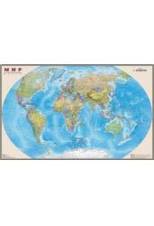 Карта мира. Политическая 1:15 млн. (ламинированная, глянец)