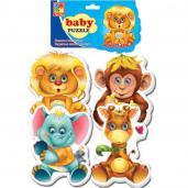 "Мягкие пазлы ""Baby puzzle Зоопарк"""
