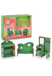 Деревянный конструктор. Мебель цветная. Прихожая (М-015/М-009)