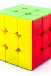 Кубик рубик 3*3 цветной без наклеек (CB3302)