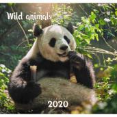 Календарь 2020 (на скр) Дикие животные. Панда 6л