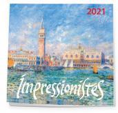 Импрессионисты. Календарь настенный на 2021 год (170х170 мм)