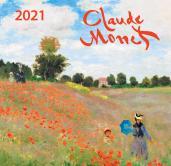 Клод Моне. Календарь настенный на 2021 год (170х170 мм)