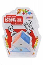 """Головоломка """"Куб 2х2"""" цветной без наклеек (CB2202)"""
