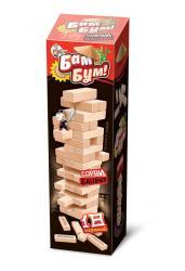 Бам-бум. Падающая башня с фантами (Дженга)