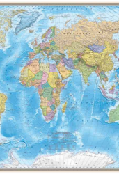 Карта мира. Политическая 1:25 млн (офсет)