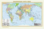 Физическая карта мира.Политическая карта мира А3