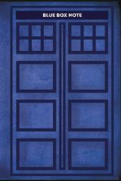 Blue Box Note.Космический блокнот д/пут.во времени