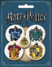 Набор значков.Гарри Поттер 5 шт.(оф.1)