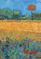 Обложка для паспорта.Ван Гог.Пшеничное поле(Арте)