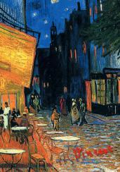 Обложка для паспорта.Ван Гог.Ночное кафе(Арте)
