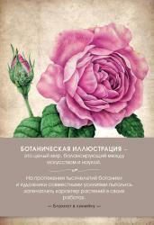 Блокнот.Ботаническая иллюстрация(розовый)