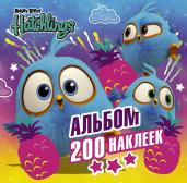 Angry Birds.Hatchlings.Альбом 200 наклеек
